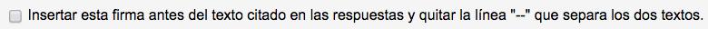 firma html mail