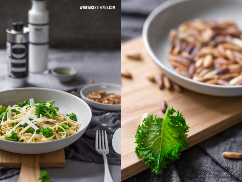 Grünkohl Pasta Rezept Spaghetti #gruenkohl #pasta #spaghetti #kale