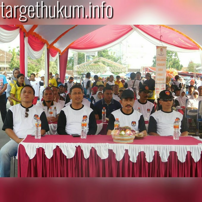 Dandim 0718 Pati Hadiri Jalan Sehat Dalam Rangka Gerakan Sadar Pemilu
