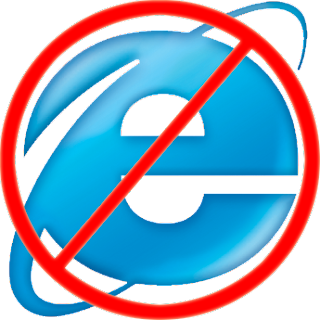 internet explorer no