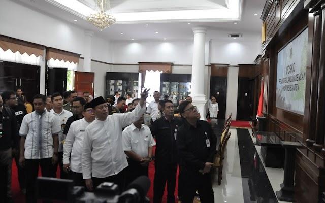 Mendagri Apresiasi Gubernur Banten Penanganan Bencana