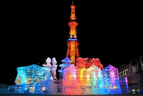 Sapporo Snow Festival, Sapporo, Hokkaido.