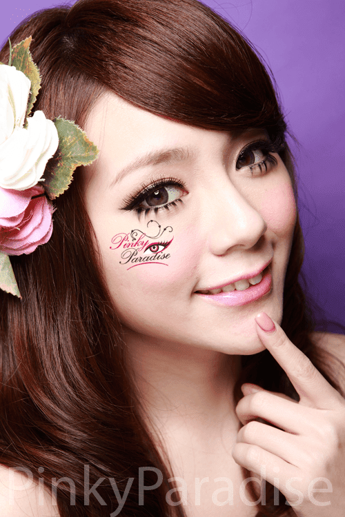 30Days Natural Circle Grey Circle Lenses (Colored Contacts)