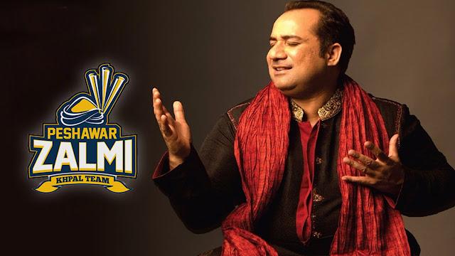 Rahat Fateh Ali Khan - Peshawar Zalmi PSL 2017 Song