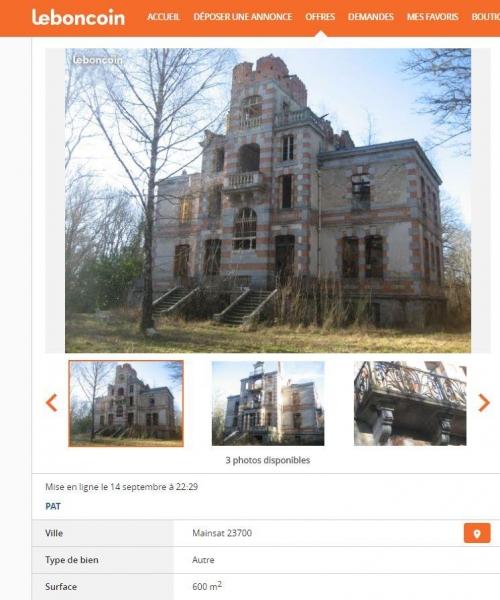 Creuse Un Château Ayant Accueilli Des Enfants Juifs En