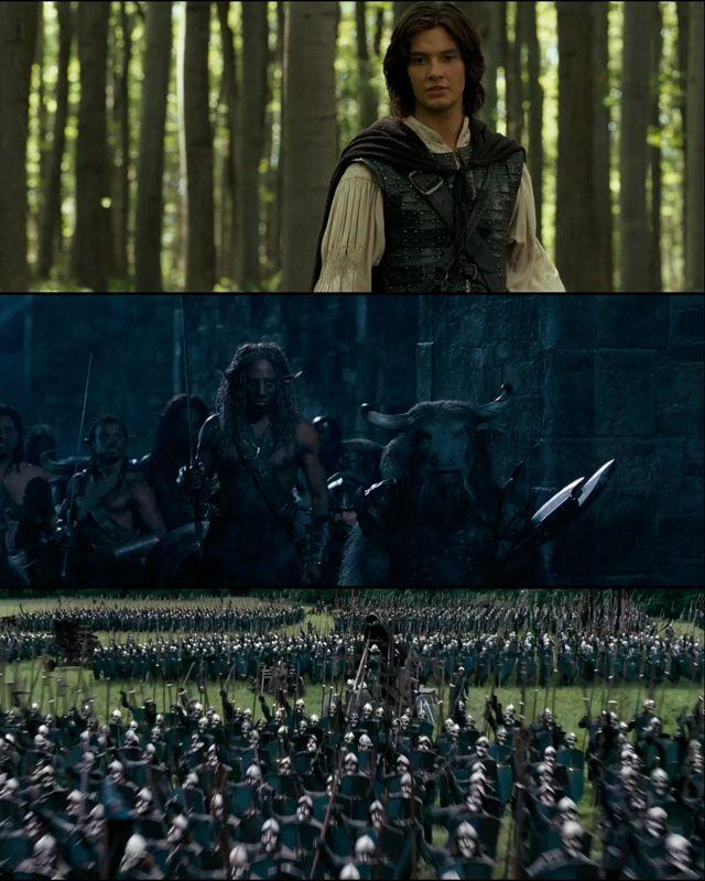Las crónicas de Narnia: El príncipe Caspian (2008) HD 1080p Latino