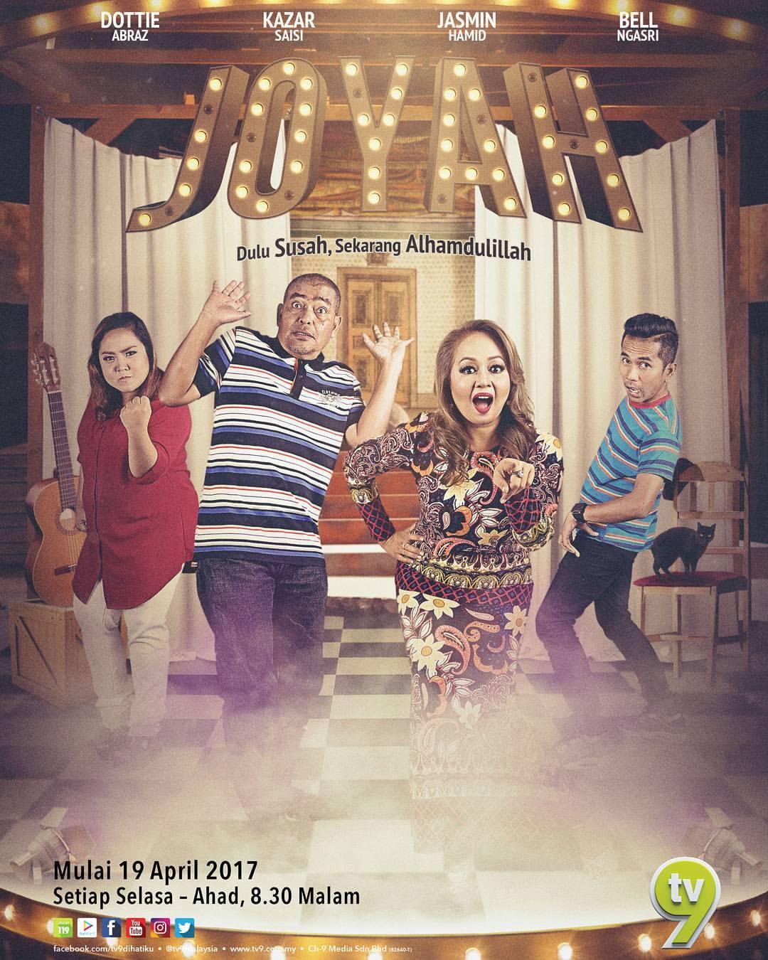 Sinopsis Drama Joyah (2017) TV9