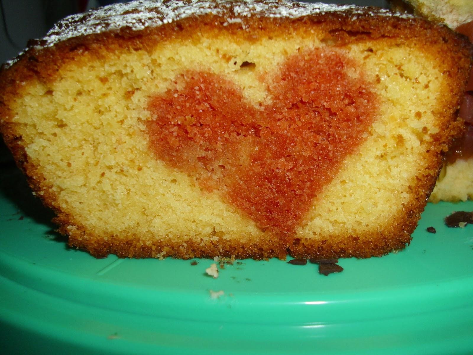 Nettis Zauberkuche Herziger Orangenkastenkuchen Zum Valentinstag