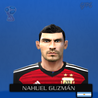 PES 6 Faces Nahuel Guzmán by Gabo Facemaker