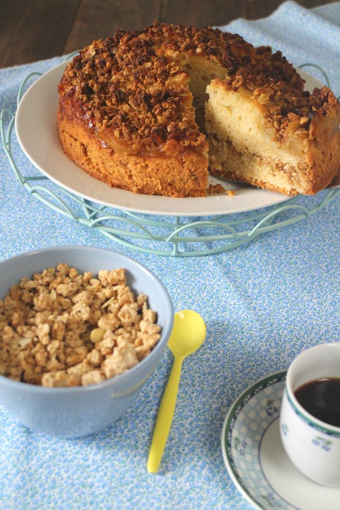 apple-muesli-cake, bizcocho-de-manzana-y-muesli