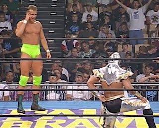 WCW Fall Brawl 1997 Review - Alex Wright defended the TV title against Ultimo Dragon