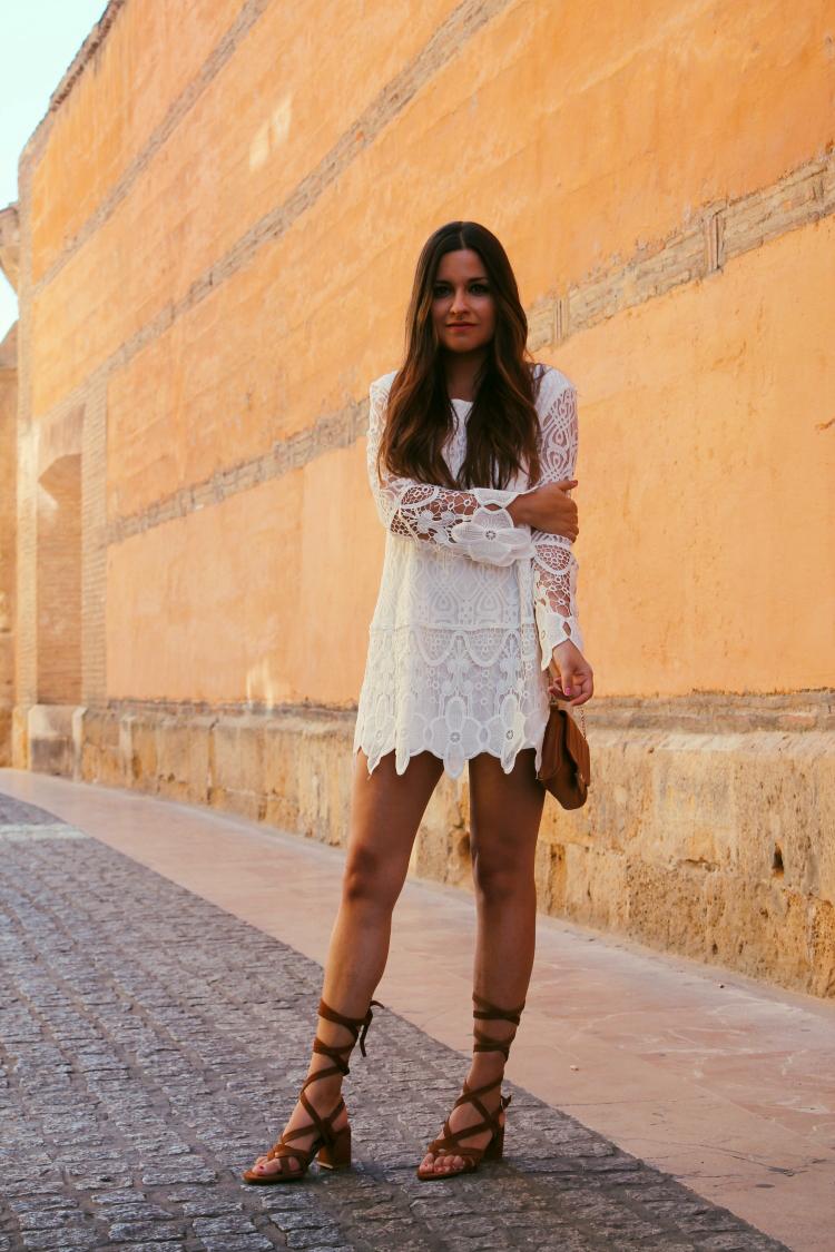 vestido blanco verano blog de moda