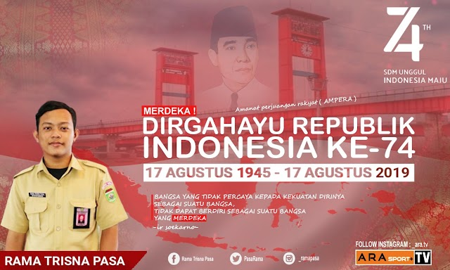DIRGAHAYU REPUBLIK INDONESIA KE-74