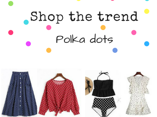 Shop the trend - polka dot
