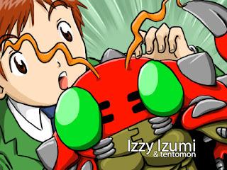 Izzy and Tentomon