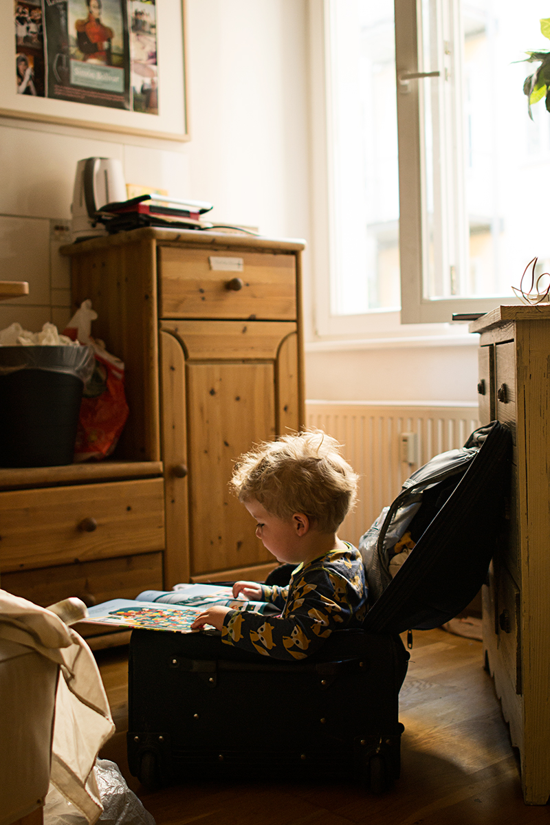 Resguide till Berlin med barn. Ett tips är att hyra en lägenhet via Airbnb.