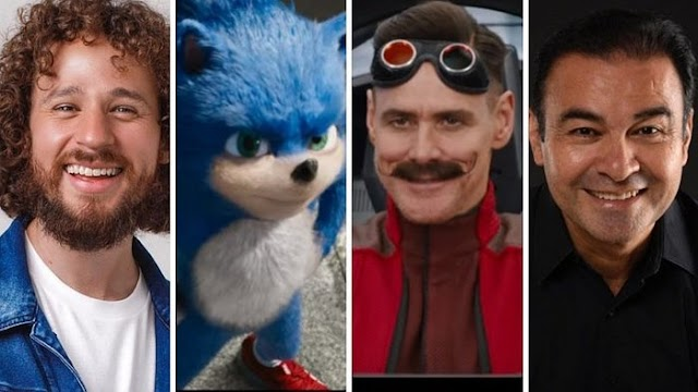 """Luisito Comunica le pondrá la voz a  """"Sonic the Hedgehog"""" en su debut en el cine"""