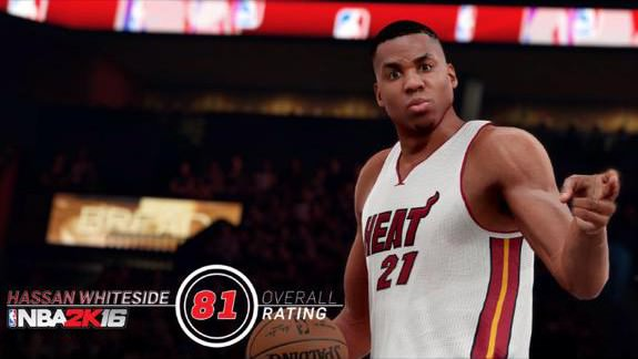 NBA 2k16 Screenshot Hassan Whiteside - HoopsVilla