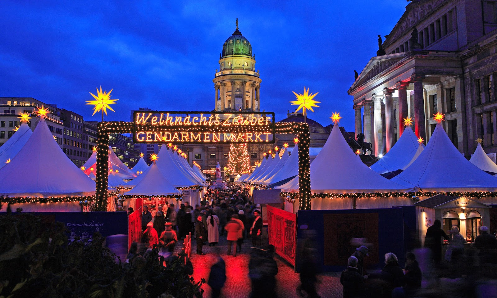 Weihnachtszauber Christmas market in Berlin