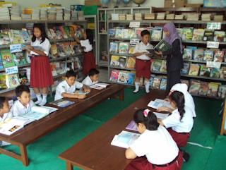 Format Data Perpustakaan Sekolah