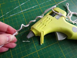 DIY - Plume en tricotin