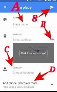 Google map me address add kaise kare 4
