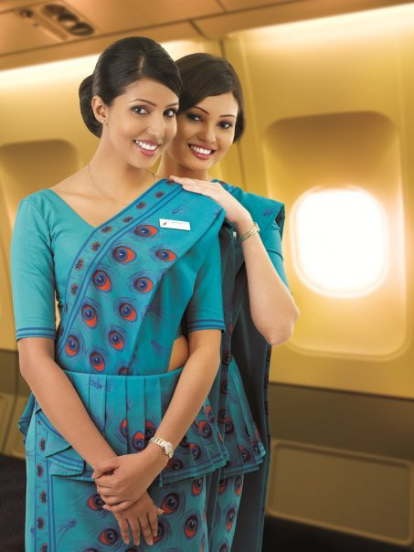 Sri Lankan Airlines Stewardess Uniform