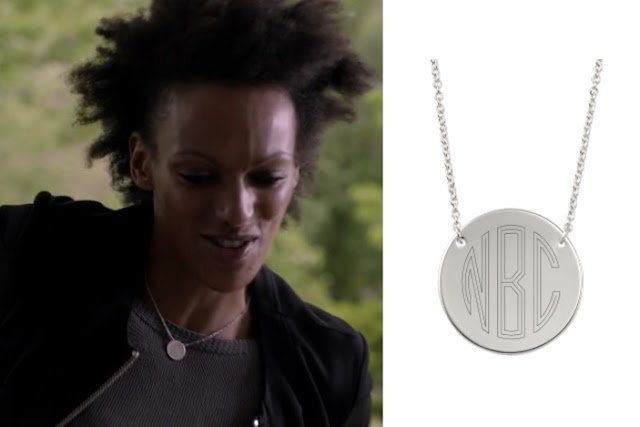 Engravable Disc Necklace on Heroes Reborn