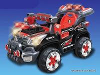 6 Mobil Mainan Aki Junior QX7566A Rocket Jeep