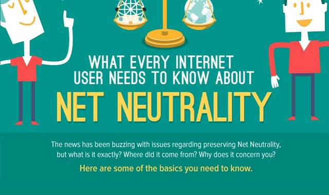 Image: What Every Internet User Needs to Know about Net Neutrality #infographic