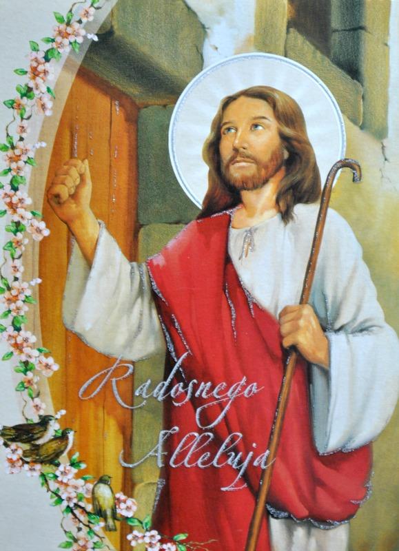 pocztówka z Jezusem