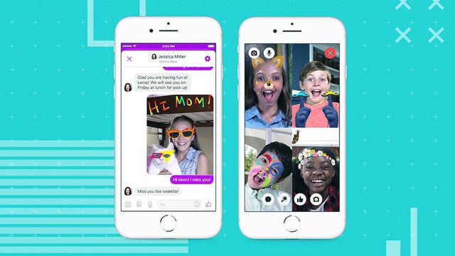 تحميل تطبيق Facebook Messenger Kids للاندرويد