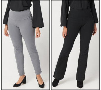 2nd Women With Control Regular Tummy Control Mini Bell Ankle Pants Set 49 98 Available In  Colors