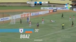 Persipura Jayapura vs Bali United 1-0