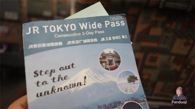 Tokyo Wide Pass 3 Hari