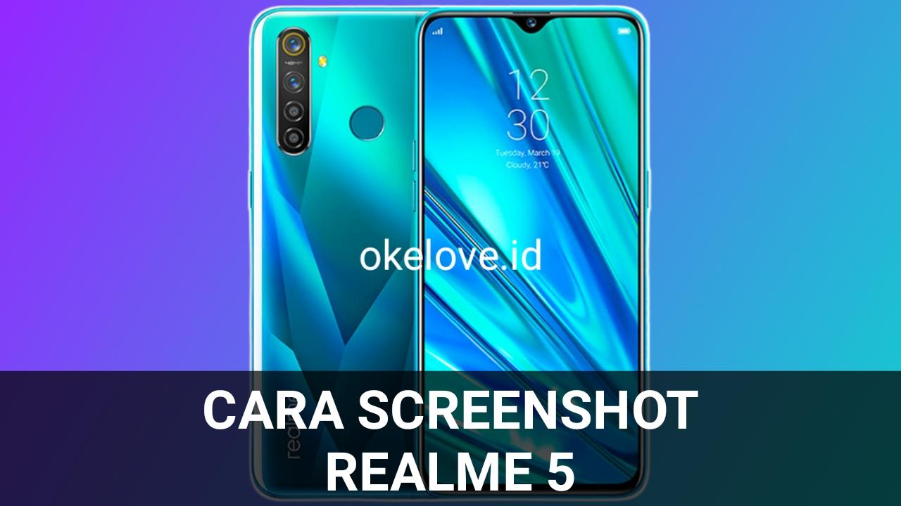 Cara Screenshot Realme 5 Mudah Sekali