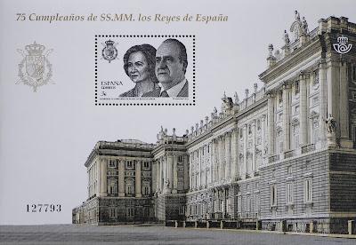 75 CUMPLEAÑOS DE SS.MM. LOS REYES DE ESPAÑA