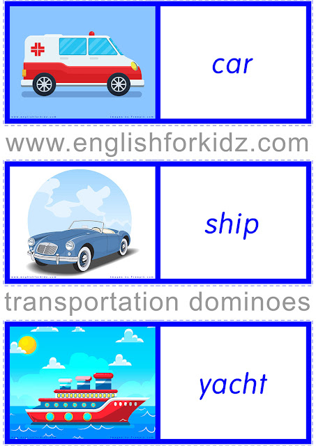 ESL transport game
