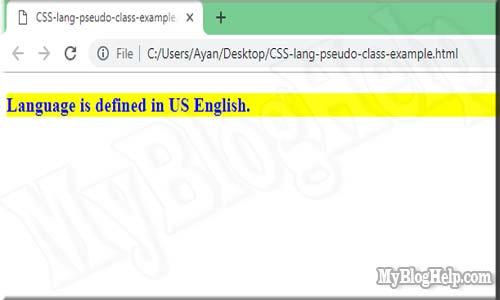 CSS-lang-pseudo-class-example