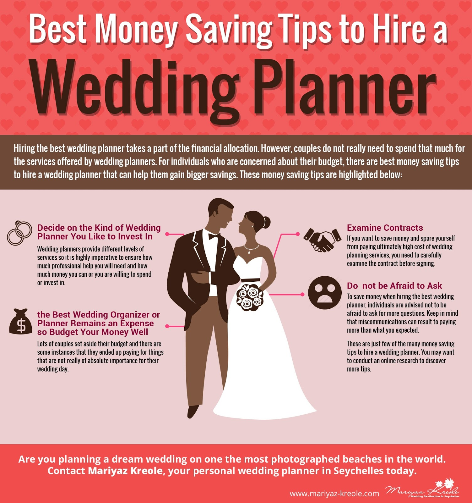 best money saving tips to hire a seychelles wedding planner