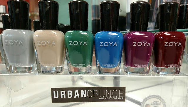 zoya urban grunge one coat creams