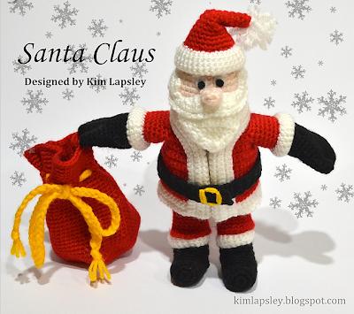 Santa Claus Amigurumi. De Tiendas...