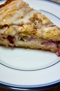 Raspberry Cream Cheese Coffee Cake: Savory Sweet and Satisfying