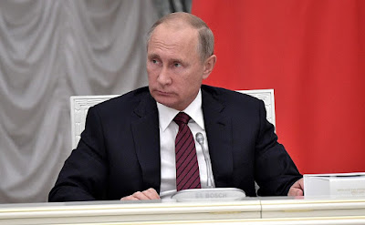 Vladimir Putin at a Council for the Development of Physical Culture and Sport.