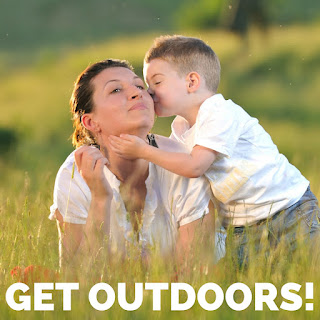Take time to get outside.