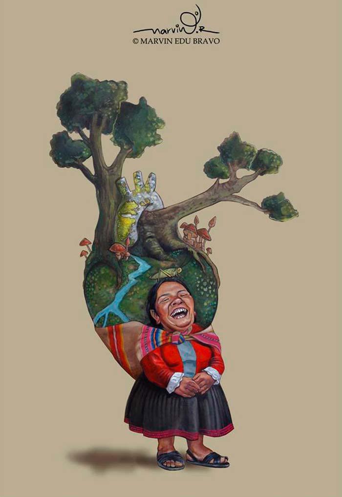 Ilustración de Marvin Edu Bravo Aquise