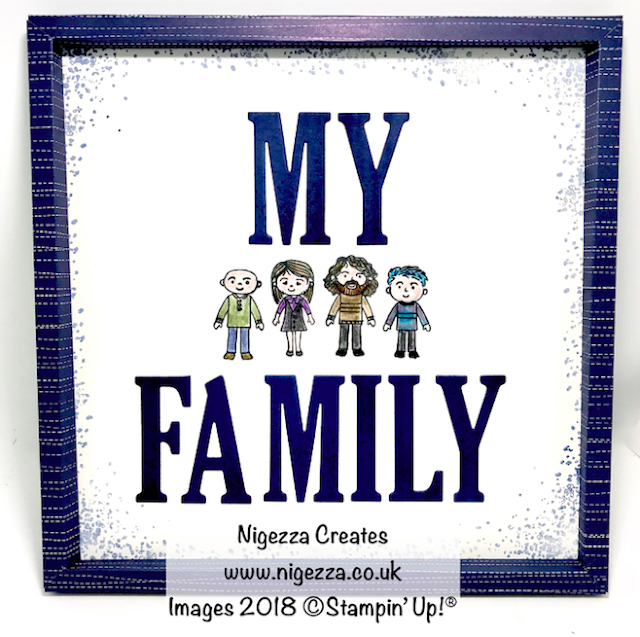 Nigezza Creates Pootlers Blog Hop Family Portrait