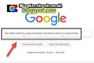 cara mengetahui judul lagu lewat google