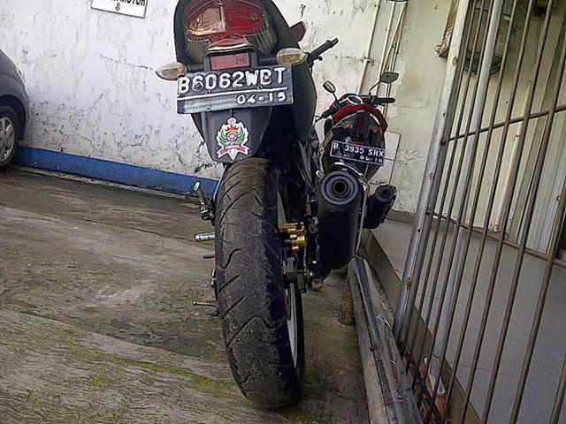Modifikasi Kereta Yamaha Vixion