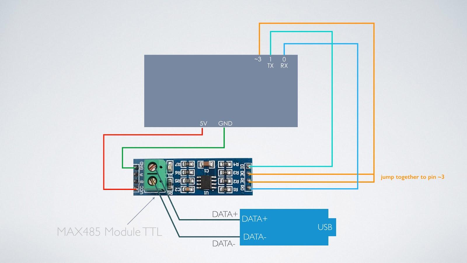 開心開一: [Arduino] Modbus RTU via RS485(MAX485 IC)